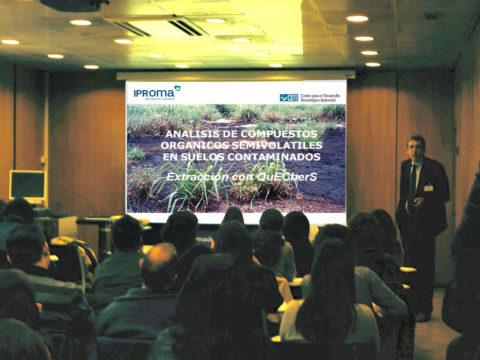 IPROMA participa en Seminario sobre Aplicaciones de la Espectrometría de Masas