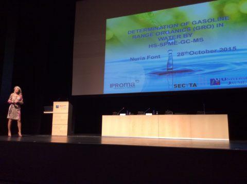 IPROMA participa en dos congresos nacionales de técnicas de química analítica