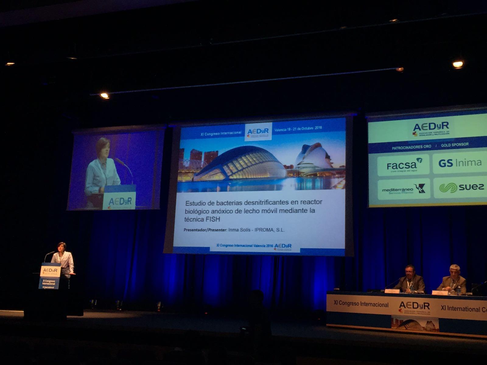 Grupo Gimeno muestra su innovación en desalación y reutilización de agua en el Congreso Internacional de AEDyR