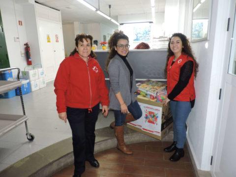 éxito de la campaña de recogida de juguetes organizada por IPROMA a favor de Cruz Roja