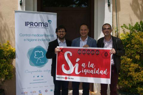 IPROMA colabora con el Sorteo del Oro de Cruz Roja
