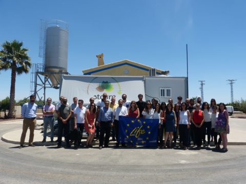Representantes de FACSA e IPROMA analizan en Murcia la gestión, tratamiento y valorización de fangos de EDAR y purines