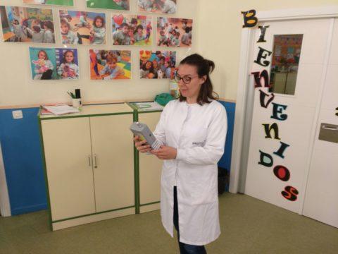 IPROMA realiza el seguimiento de la calidad del aire en el colegio Los Sauces de la Moraleja (Madrid)