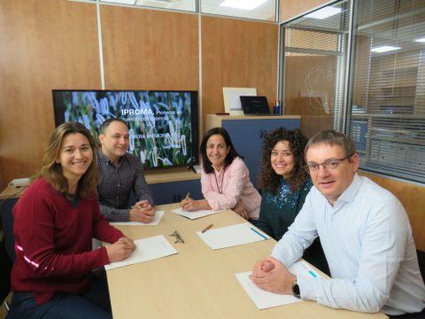 IPROMA firma un convenio de prácticas con la 'Fundación Síndrome de Down de Castellón