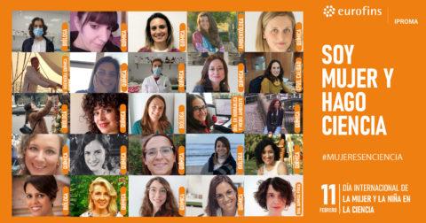 Eurofins | IPROMA celebra el Día Internacional de la Mujer y la Niña en la Ciencia